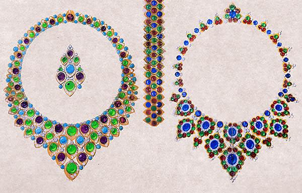 Bulgari necklaces (1965-67)