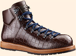 Alligator boots by Louis Vuitton, £5,450