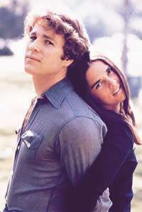 Ryan O'Neal and Ali MacGraw in 'Love Story' (1970)