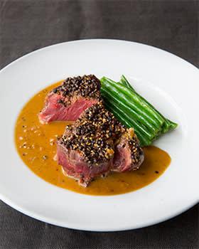 Rowley Leigh's Steak au poivre