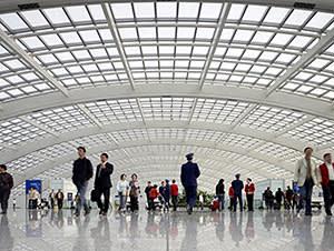 Terminal 3 at Beijing Capital airport
