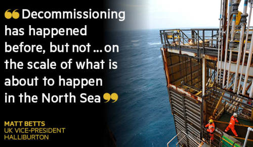 North Sea oil: The £30bn break-up   Financial Times