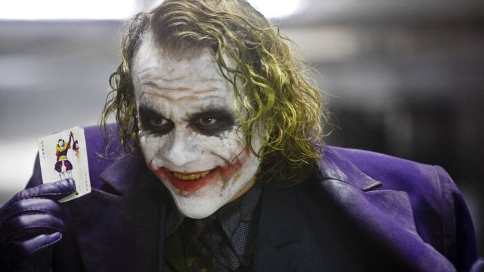 'If you're good at something, never do it for free,' quips The Joker in the Batman film 'The Dark Knight'