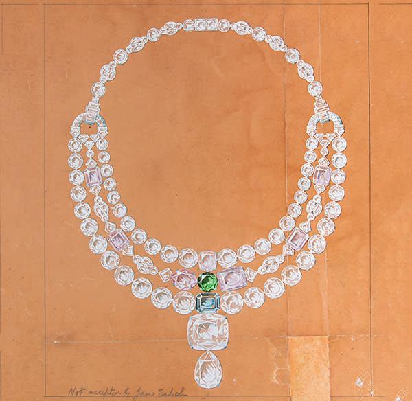 Cartier necklace (1930s)