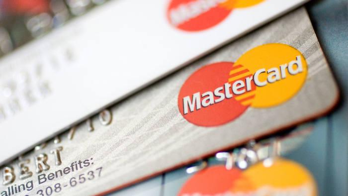MasterCard logos on credit cards