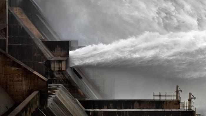 Xiaolangdi Dam #1 by Edward Burtynsky