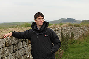 Rory Stewart by the wall