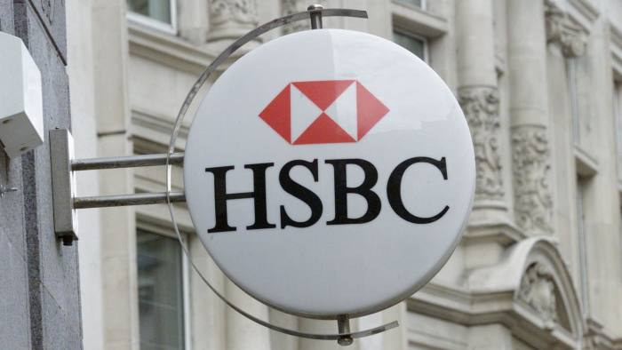HSBC outsources £1 8bn of pension assets to Fidelity | Financial Times