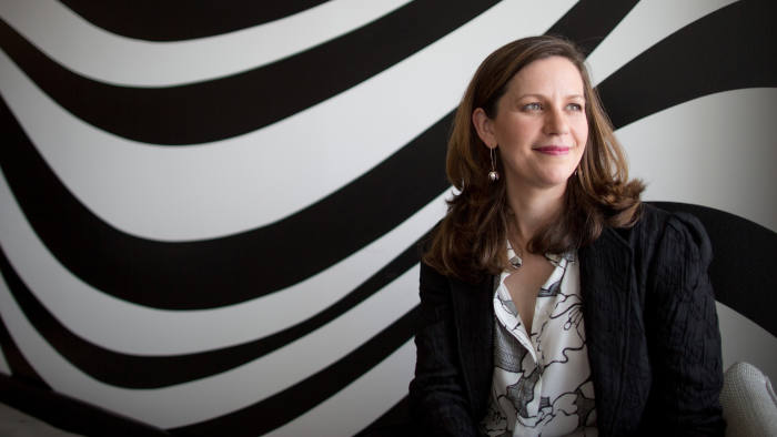 "Amy Whitaker: she hopes her readers will be able to draw on her advice and construct a life of ""originality and meaning"""
