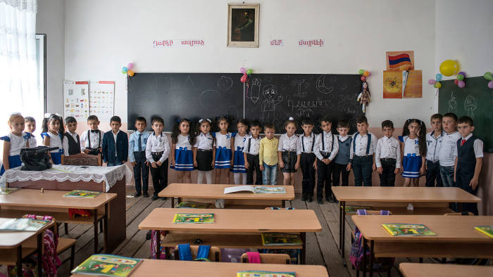 Out of balance: Gandzak village's school where boys outnumber girls