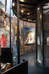 Messner Mountain Museum at Firmian designed by Paolo Zanzi