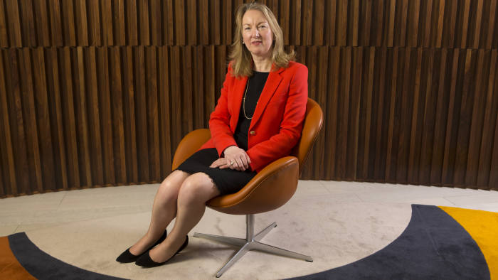 Siobhan Talbot, CEO of Glanbia PLC, the Irish performance nutrition, cheese and ingredients group.