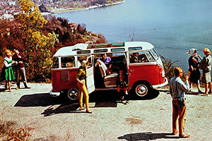 0406b1db27 Camping in a VW classic van