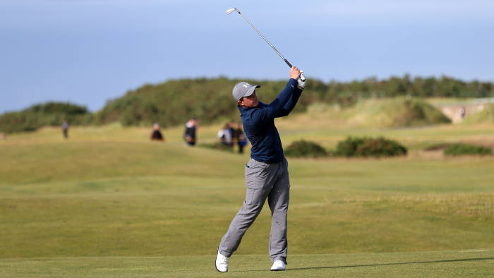 Ireland's Paul Dunne during day four of The Open Championship 2015 at St Andrews, Fife
