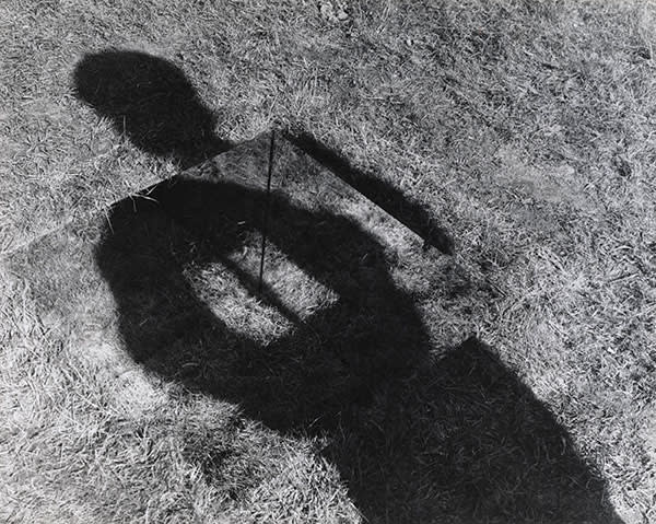 Keith Arnatt's 'Invisible Hole Revealed by the Shadow of the Artist' (1968)