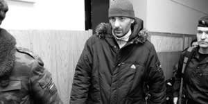Vasily Alexanyan, another jailed Yukos executive, Moscow, 2008