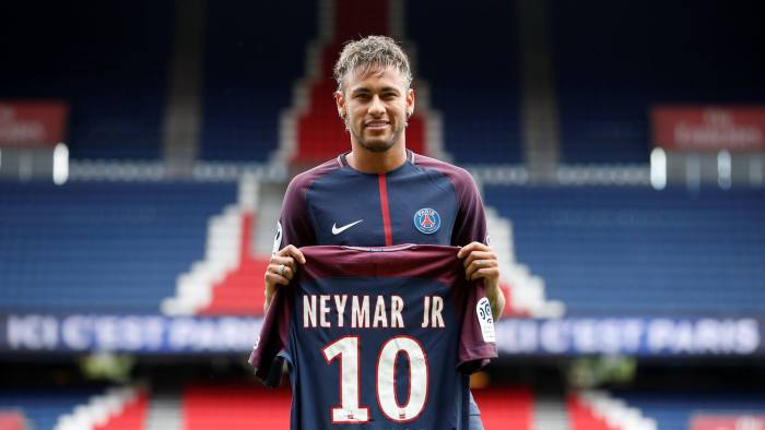 ecd982ce076 Record Neymar transfer threatens to shake up elite football ...