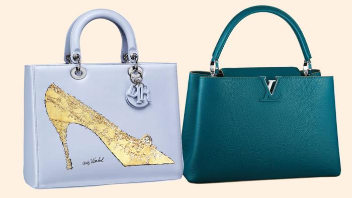 A Lady Dior bag boasting Andy Warhol s signature heel sketch (£5 05d37b3d0ba9b