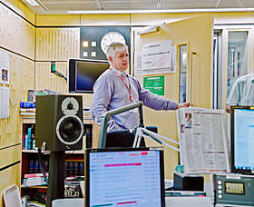 Proms director Roger Wright at Broadcasting House