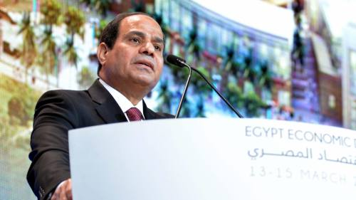 Gulf states put their money on Sisi's Egypt with pledges worth $12bn