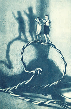'Journey Inside the Electric Lamp' (1937) by Nikolai Bulatov and Pavel Lopatin, illustrated by M Makhalov