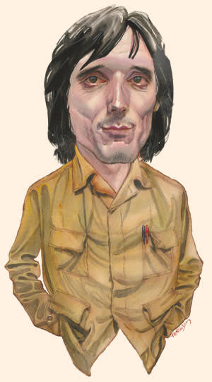 illustration of Jeremy Deller