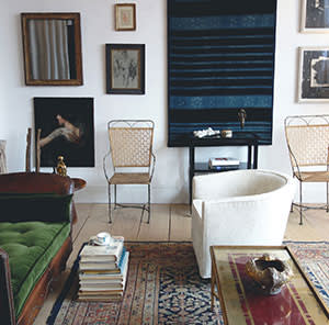 Another blend of the historical and contemporary at Lawton Mull's studio