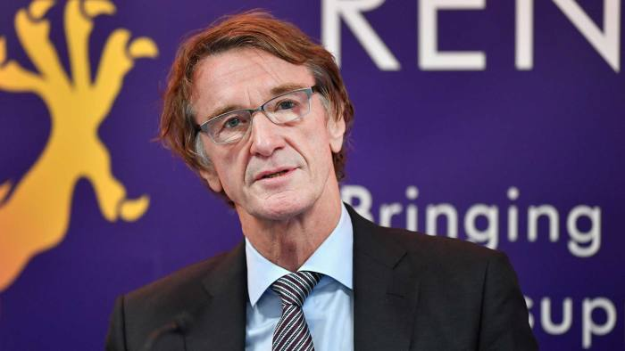 Jim Ratcliffe, CEO of Ineos