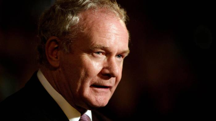 Martin McGuinness — from the Armalite to the ballot box | Financial