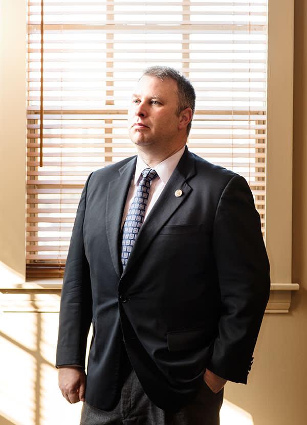 Matt Borges, Ohio Republican party chairman