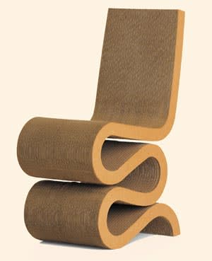 Frank Gehry's Wiggle side chair
