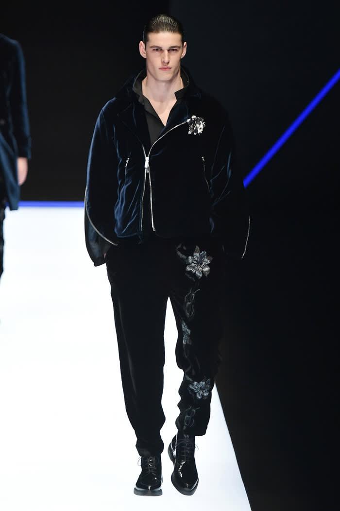 Emporio Armani Fall Winter 2018 Milan Fashion Week Men