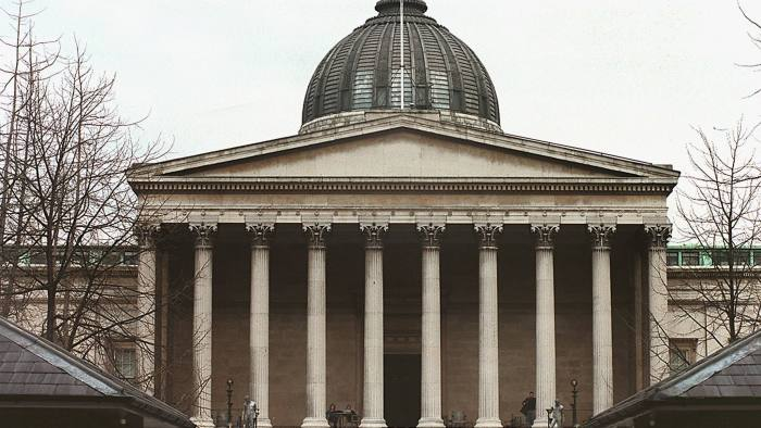 Overview of University College London (UCL).