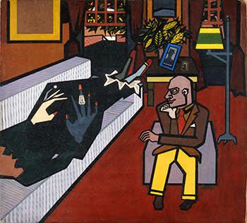 Howard Hodgkin's 'Memoirs' (1949), a surprising early work