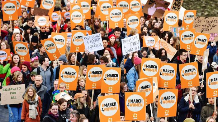 March4Women demonstrations in London this year