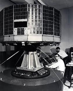 US's first weather satellite TIROS 1