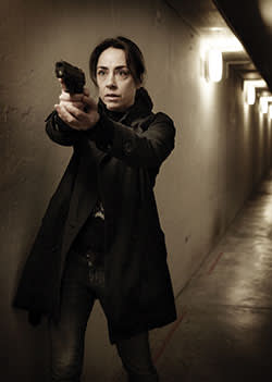 Sofie Gråbøl as Sarah Lund in 'The Killing'