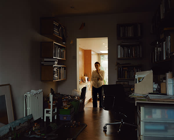 Photograph by Nigel Shafran, from his latest book 'Dark Rooms', mackbooks.co.uk