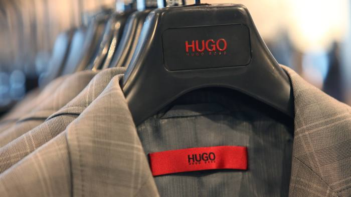 4e3c3ec4a Hugo Boss has already said it will abandon its push into luxury to refocus  on its core suits business © Bloomberg