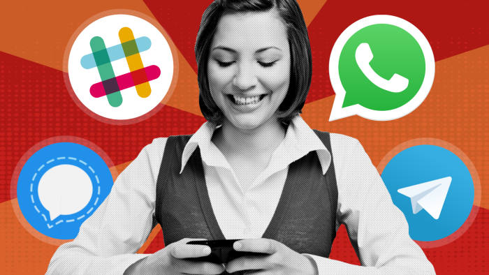 The perils of using WhatsApp at work | Financial Times