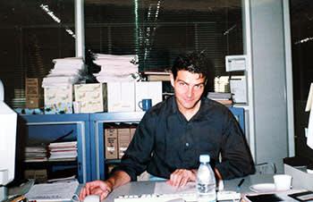 Jerome Kerviel working for Société Générale in 1999