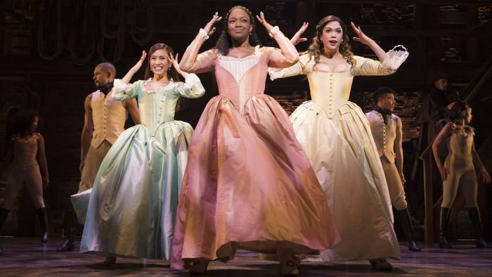 Hamilton Opens In London A Playful And Dazzling Work Of Art Financial Times