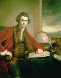 Sir Joseph Banks (1743-1820), 1771-72 (oil on canvas) by Reynolds, Sir Joshua (1723-92)
