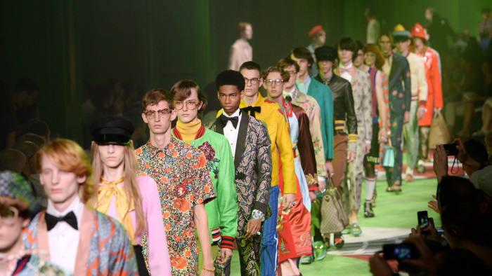 Gucci menswear SS17