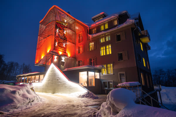 The Hotel Wetterhorn after its revamp
