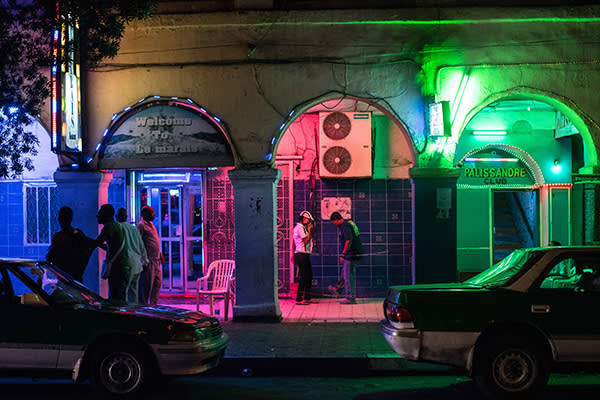 A drinking bar in Djibouti