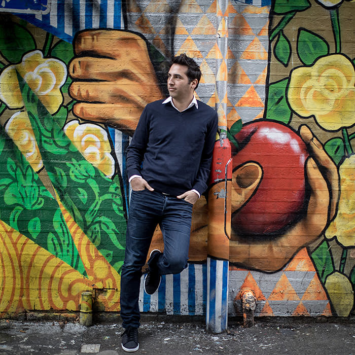 01/11/2017 Shachar Bialick CEO of Curve for Business Ed magazine. Photographed in Shoreditch this afternoon.