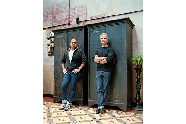 Dishoom founders Kavi (left) and Shamil Thakrar
