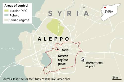 Syrian rebels secure deal to withdraw from Aleppo