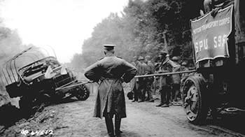 The convoy in 1919